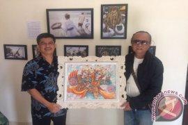 """Seniman Bali Serahkan Lukisan Untuk """"Dasawindu Antara"""""""