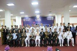 Gubernur Lampung Ridho Ficardo Menyerahkan DIPA Tahun Anggaran 2018