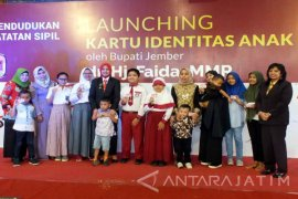 650.216 Anak di Jember Wajib Miliki Kartu Identitas Anak (Video)