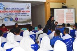 Ratusan Pelajar Ikuti Seminar Interaktif Narkoba dan HIV-AIDS