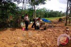 Polisi Siapkan Sumur Bor Bantu Warga Kesulitan Air Bersih