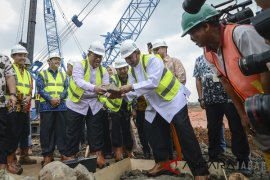 Groundbreaking Pembangunan Masjid Raya Al Jabbar
