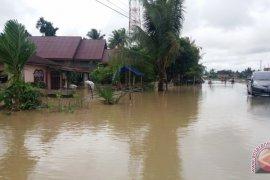 Puluhan desa dilanda banjir di Aceh Utara
