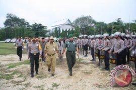 Polres Tabalong Gelar Apel Kesiapan Pengamanan Pilkada