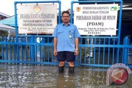 Saat Banjir, Kuderiyadi Pastikan Air PDAM Tetap Bersih