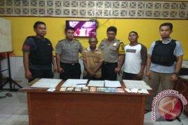 Polres Bangka Selatan tangkap pelaku judi togel