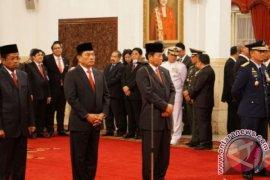 Presiden Jokowi lantik empat pejabat