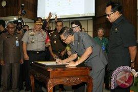 Pemkab se-Bali sepakati program pemberantasan korupsi terintegrasi