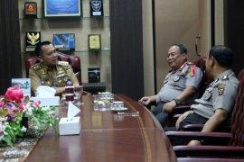 Gubernur Ridho Ficardo Menghibahkan 23,7 HA Lahan Untuk Polda Lampung