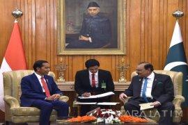 Jokowi Bertemu Presiden Pakistan Mamnoon
