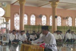 Bacaleg di Lhokseumawe ikuti uji baca Al Quran