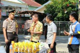 Polres HSS dan Bulog Barabai Operasi Pasar