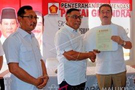 Partai Gerindra Maluku beri rekomendasi Pilkada 2020 secara serempak