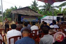 Polda Babel bangun rumah layak huni di Bangka Barat