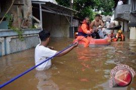 Sebaran banjir di Jakarta
