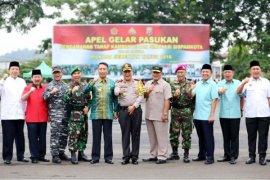 Didik Suprayitno Menghadiri Apel Kesiapan Pengamanan Pilkada Lampung 2018