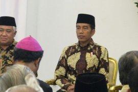 Jokowi Bertemu Dengan 400 Lebih Pemuka Agama di Bogor (Video)