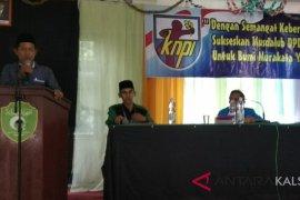 Taufik Rahman Nahkodai KNPI HST Berdasarkan Aklamasi
