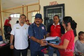 PMI-Karang Taruna bantu anak korban kebakaran