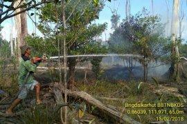 Kawasan Taman Nasional Danau Sentarum Kapuas Hulu terbakar