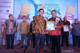 Bank Sumut raih penghargaan penerapan CSR berkelanjutan
