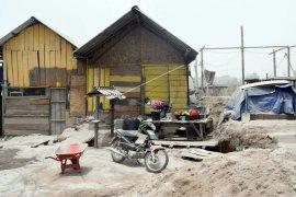 Erupsi Sinabung hilang terbawa angin di Aceh