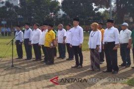 Bakal calon Kepala Daerah Sukabumi deklarasi damai