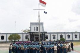 "Danlantamal XII gelar ""exit briefing"" jelang sertijab"