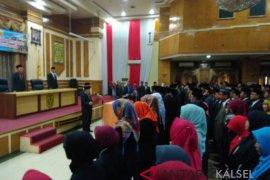 Wali kota Banjarmasin Ibnu Sina  lantik 176 pejabat