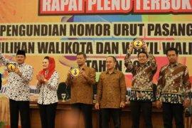 KPU Madiun Tetapkan Wali Kota-Wawali Kota Terpilih