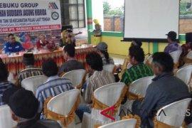 Sebuku Group Latih Petani Budidayakan Jagung