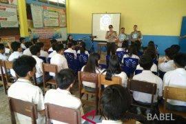 Polda Babel sosialisasikan bahaya narkoba ke sekolah