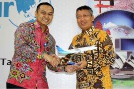 Didik Suprayitno Membuka 'Garuda Indonesia Travel Fair 2018'