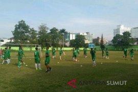PSMS bawa 18 pemain hadapi Mitra Kukar