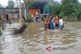 Sejumlah desa di Aceh Utara mulai digenangi banjir