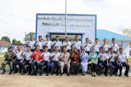 Pjs. Gubernur Lampung Kunjungi Lanud Pangeran M. Bunyamin