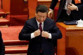 Sebagian Besar Parlemen China Memilih Xi Jinping Sebagai Presiden