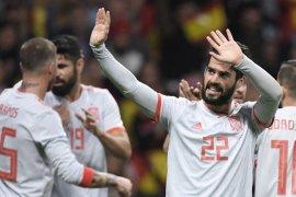 Isco pimpin Spanyol taklukkan Argentina 6-1