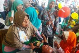 Alfamart Gelar Posyandu Nasional Peduli Kesehatan Balita