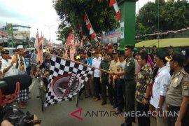 Dandim 0509 melepas 10 peserta IVCA Denpasar