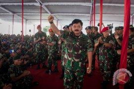 Panglima TNI kembali mutasikan perwira tinggi