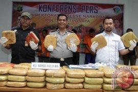 Polda Metro sita 142 kg ganja asal Aceh menuju Jakarta