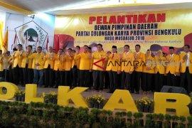 Rohidin: Golkar wajib menang Pileg di Bengkulu
