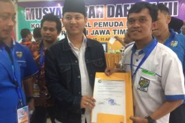 Plt Bupati Trenggalek Terpilih Ketua KNPI Jatim