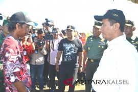 Kementan Kunjungi Pembangunan Pengembangan Pertanian Batola