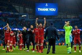 Liverpool ke final Liga Champions meski kalah dari AS Roma