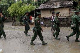 Tentara Myanmar bunuh enam orang dan tahan sejumlah orang di Rakhine