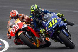 "Rossi: Marquez ""menghancurkan"" MotoGP"