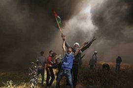 Pesawat tempur Israel hantam satu pangkalan Hamas di Jalur Gaza