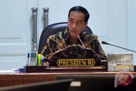Presiden Jokowi lantik sembilan anggota KPPU